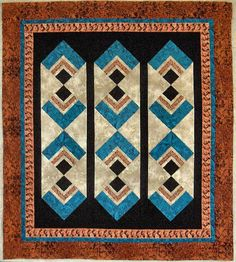 Southwestern Themed Quilts: Kay Ahr's Arizona Quilt