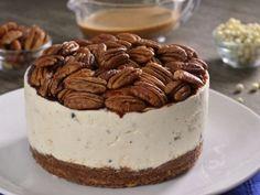 Receta de Cheesecake de Nuez con Chocolate y Caramelo
