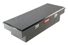 Diamond Plated Black Lund//Tradesman 79100LP 70-Inch Low Profile Aluminum Cross Bed Truck Tool Box