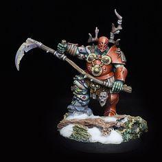 Nurgle Blight King no. Warhammer Fantasy, Warhammer 40k, Sci Fi Miniatures, Figure Painting, Gw, Paint Ideas, King, Projects, Inspiration