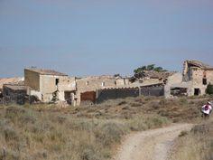 OREJA - ONTÍGOLA (TOLEDO). El pueblo despoblado de Oreja.