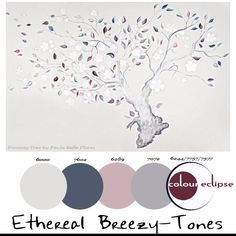 Paint Palettes {Ethereal Breezy-Tones}