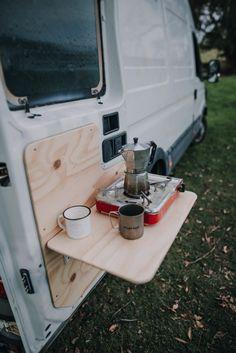 Van Conversion Interior, Camper Van Conversion Diy, Ford Transit Camper Conversion, Small Camper Vans, Small Campers, Build A Camper Van, Camper Van Life, Travel Camper, Car Camper