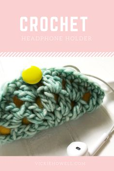 Make the cutes little cord-keeper, you ever did see! Pattern and tutorial.