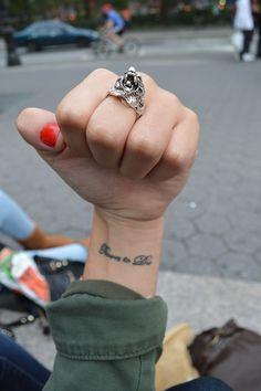 """""""Born to Die"""" tattoo"""