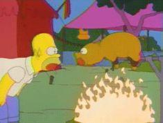 Homer Simpson als Bratmaxe