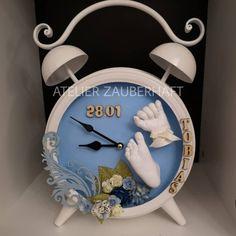 Clock, Wall, 3d, Home Decor, Atelier, Gypsum, Watch, Decoration Home, Room Decor