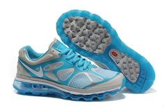 Grey Jade White Nike Air Max 2012 Womens Sneakers $ 57.13
