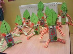 Výsledek obrázku pro podzimní vyrábění s dětmi Dinosaur Stuffed Animal, Christmas Ornaments, Toys, Holiday Decor, Animals, Home Decor, Animais, Animales, Animaux