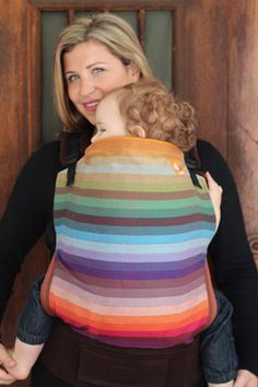 TULA Baby Carriers | Toddler Carriers — (Toddler size) Semi Wrap Conversion Tula Baby Carrier - Girasol Amitol
