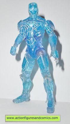 marvel universe Holographic IRON MAN kmart proving ground action figures