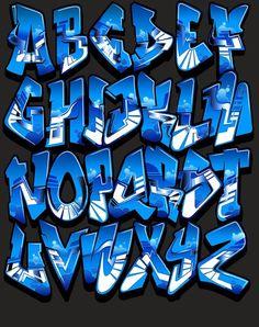Font-Lapis%2BAlfabeto%2BGraffiti%2BAlphabet%2BLetters%2BColor.jpg (681×861)