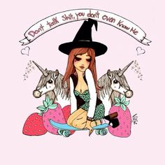 Don't talk you don't even know me #valfre #TheWitchingHour