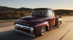 Bodie Stroud Industries turns the 1956 Ford F-100 pickup into the custom-built and custom-finished BSI X-100. (11 photos)