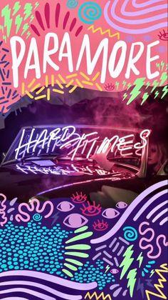 Paramore is life Paramore Band, Hayley Paramore, Paramore Hayley Williams, Paramore Tattoo, Emo Bands, Music Bands, Rock Bands, Hard Times Paramore, Paramore Wallpaper