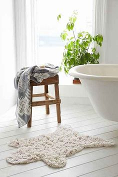 Tapis de bain nature sauvage Magical Thinking