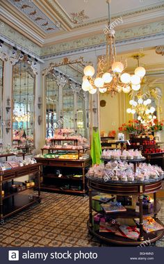 Cafe Demel, Vienna, Austria Stock Photo