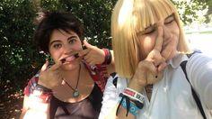 Eren and Armin