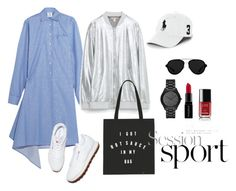 """ss2016 sportshic1"" by nadia-skibina ❤ liked on Polyvore featuring Vetements, Michael Kors, Reebok, Zara, Polo Ralph Lauren, 3.1 Phillip Lim, Chanel, Smashbox, women's clothing and women"