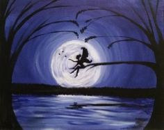 Paint Nite Pittsburgh | Fairy Dust Moonlight at the Fox and Hound