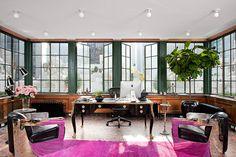 Rafael de Cardenas Top Interior Designers, Office Interior Design, Best Interior, Office Interiors, Office Designs, Modern Interior, Office Office, Pink Office, Home Office Decor