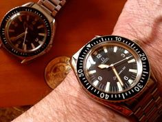 Two Vintage Omega Seamaster 300 Divers #Omega #Military #Watches #Womw #Menswear #SM300 #Diver #Seamaster #Cal552 - omegaforums.net