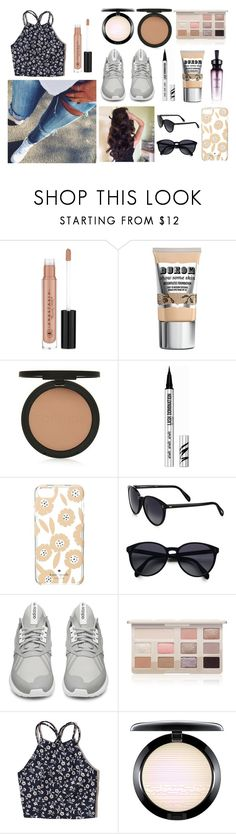 """show me a hero and i will write you a tragedy"" by lizzie-biver ❤ liked on Polyvore featuring Anastasia Beverly Hills, Topshop, Bare Escentuals, Fashionvictime, Kate Spade, Oliver Peoples, adidas, Too Faced Cosmetics, Hollister Co. and MAC Cosmetics"