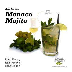 Das ist der Monaco Mojito von freilaufende Limetten.