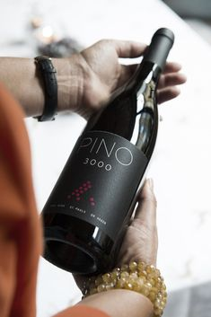 PINO 3000 from Weingut Heger, Weingut Paul Achs & Kellerei St. Pauls - an exclusive wine, matured at m. Red Wine, Alcoholic Drinks, Luxury Life, Bottle, Glass, Gourmet, Master Chef, Wine, Drinkware