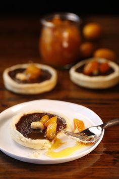 Satin Chocolate Tart with Kumquat Compote — Ginger and Baker