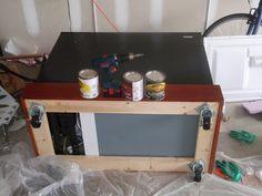 How to build a home brew keezer/kegorator   North Carolina Home Brewing