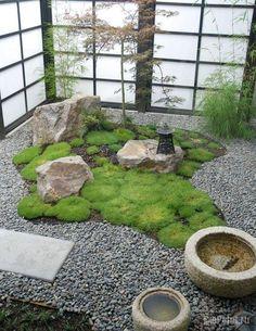 миниатюрный японский сад