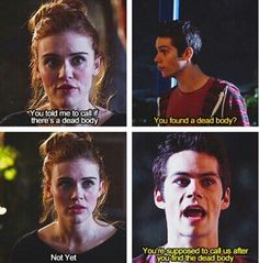 Duhh Lydia! You're Supposed To Call After You Find The Dead Body