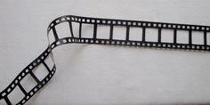 Galon effet pellicule de cinéma en skaï noir : Rubans par je-m-applique