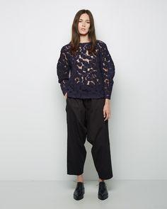 Tsumori Chisato  Whirling Wool Jacquard Top | La Garçonne