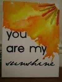 Sunshine Crayon art