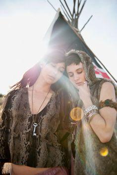 Cocovin ~ Fall 2011 #girl #friends #hippie #inspo #boho #fashion #style #tent #festival #coachella #ideas #glamping