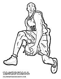 LeBron James coloring page   Free Printable Coloring Pages ...