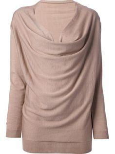 LANVIN - draped sweater 6