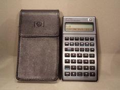 Calculatrice-calculator-Hewlett-Packard-HP-17bII