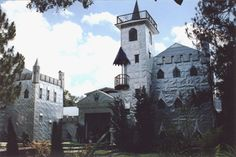 Solomon's Castle, somewhere near Arcadia, fl. Sculpted by one man from aluminum printing plates
