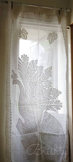 Peacock Spread Feathers 3D Blockout Photo Printing Curtains Draps Fabric Window