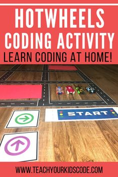 This fun coding game is easy to do at home. Teach your kids coding with this unplugged activity. Kids will learn the basics of algorithms and sequence with this grid based coding game for kids. Play Based Learning, Learning Through Play, Kids Learning, Computer Lessons, Computer Science, Computer Class, Stem For Kids, Science For Kids, Educational Activities For Kids
