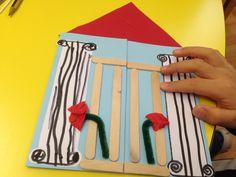 πολυτεχνειο Art For Kids, Crafts For Kids, Diy Crafts, November 17, Preschool Themes, Pre School, Kindergarten, Triangle, Activities