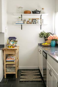 small kitchen styling idea