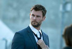 Chris Hemsworth photoshoot for Hugo Boss.