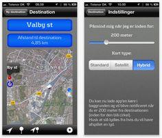 Ny smart enkel App til iPhone! Check Ud sørger for du aldrig mere glemmer at checke ud med dit Rejsekort..