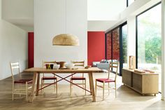 Vibrant Red - Wall Paint - Wall & Feature Wall Paint Colour Ideas (houseandgarden.co.uk)