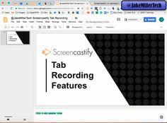 Screencastify Tab Recording Webcam Features Animation