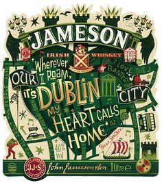 Дизайн бутылки Jameson посвятили Дублину | Реклама Маркетинг PR - SOSTAV.RU